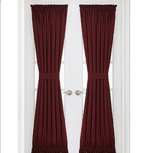 NEW Energy Saving Rod-Pocket Door Panel Curtains